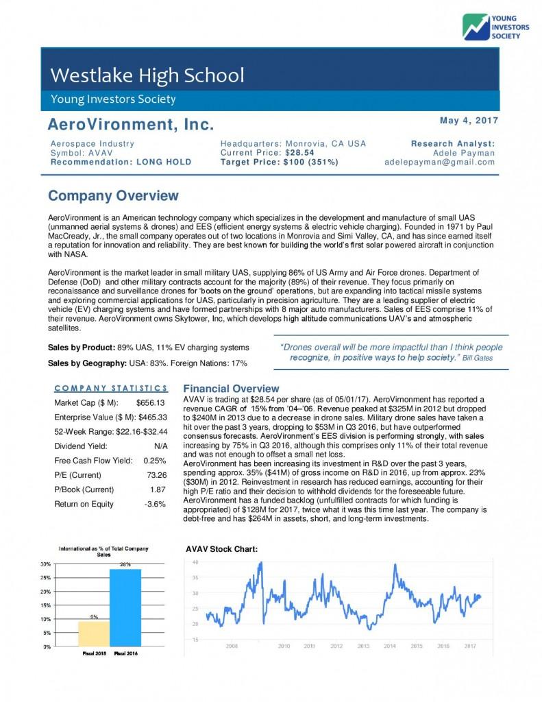 AeroVironment Stock Pitch - Adele Payman-page-002