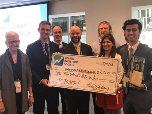 Congratulations to the 2018 Global Stock Pitch Competition Winners!