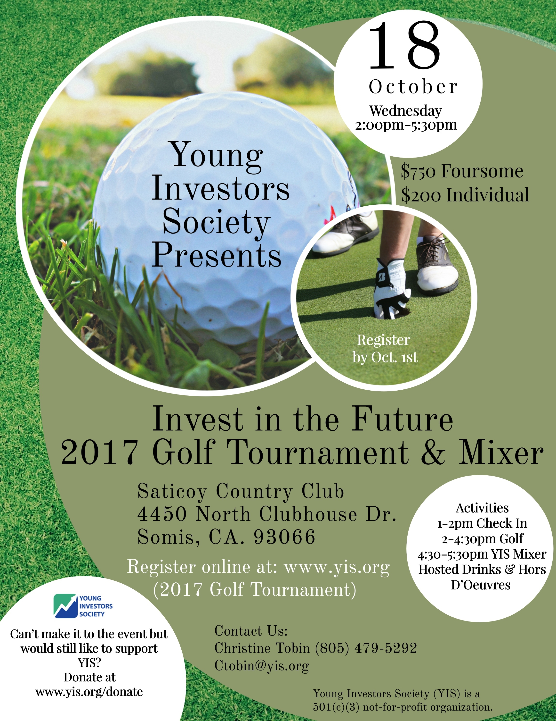 2017 Golf Tournament & Mixer