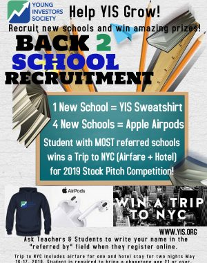 Back To School Recruitment Flyer