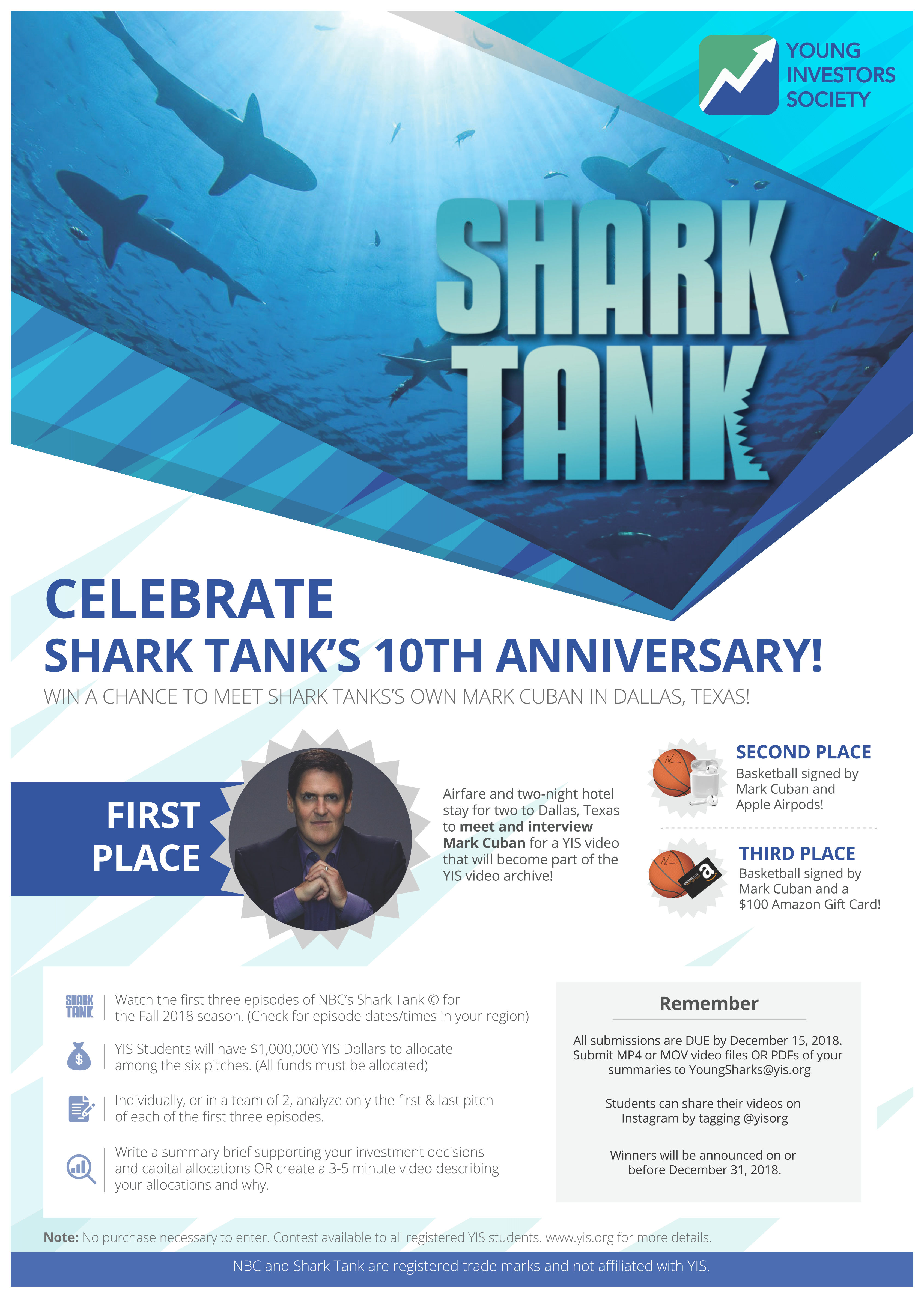 YIS Shark Tank Contest
