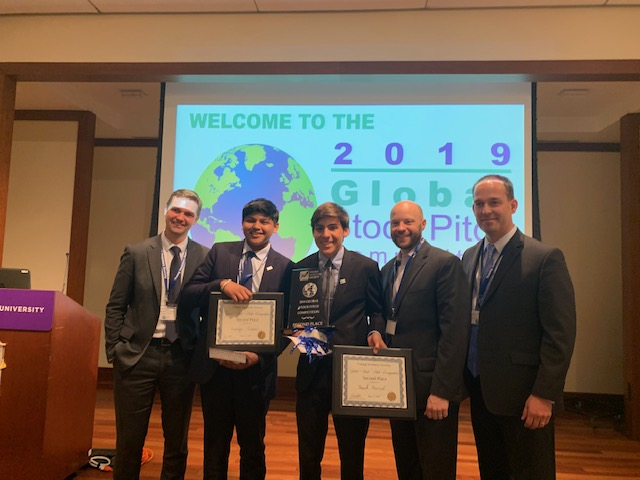Bellaire High School Team Places Second in Global Competition for Young Investors Society