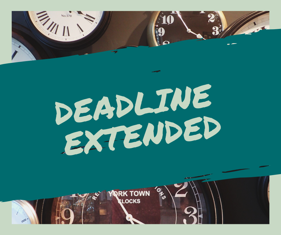 Stock Pitch Reports & Presentations Deadline Extended