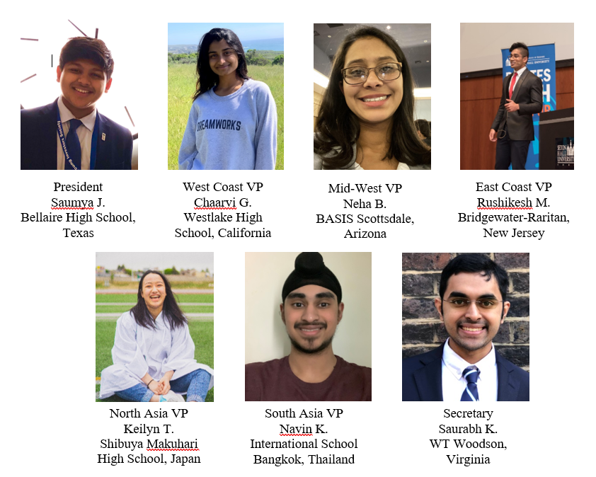 Congratulations to our 2020-2021 Student Advisory Board Elected Officers!
