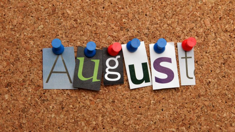 YIS Monthly Reporter Newsletter for August NOW Available!