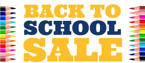 YIS Back to School Merchandise Sale!