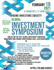 2021 YIS Global Investment Symposium