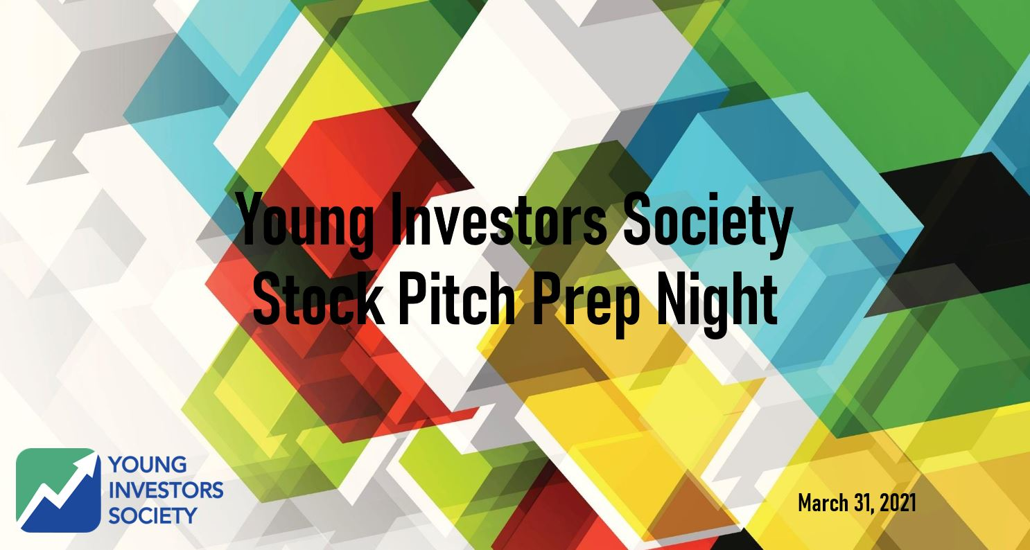 Stock Pitch Prep Night on YouTube