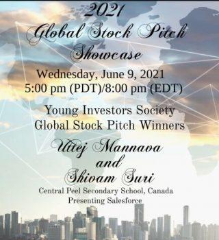 2021 YIS Global Stock Pitch Showcase
