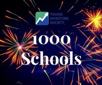 YIS Reaches 1000 Schools!