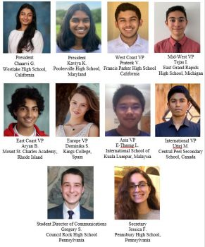 Congratulations to the 2021-2022 Student Advisory Board Members
